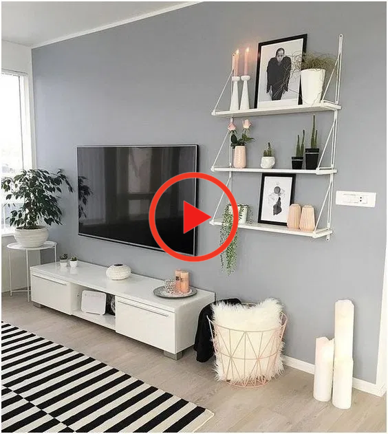 homedecor on a budget #homedecor 28 comfy small apartment living room decorating ideas on a budget 9 | Home Sweet Home #homedecor #decorideas