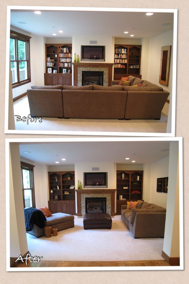 Dissecting the sectional - New Interior Solutions #homestagingavantapres