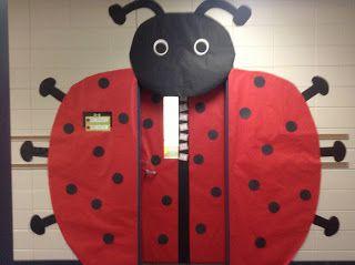 Ladybug Classroom Decoration Ideas : Finally finished my ladybug door thanks to visit