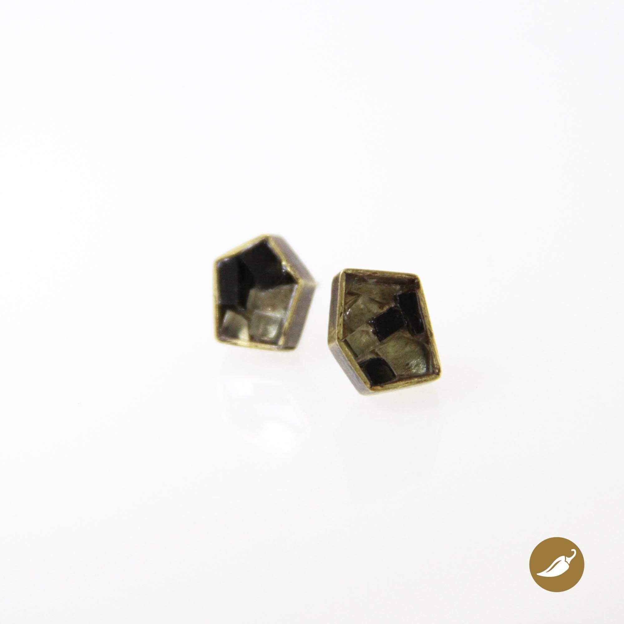 Women/'s Handmade roto Cristal Cuenta Pendientes