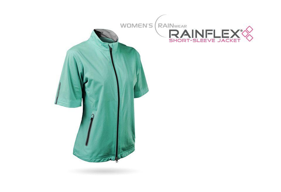 Golf Outerwear Women S Rainwear Wmn S Rainflex Short Sleeve Outerwear Women Short Sleeve Jacket Rain Wear