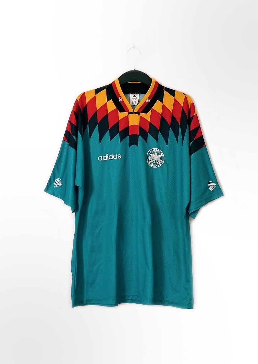 024ae9777 Vintage German Adidas football shirt. Via  fadashh.tumblr.com ...