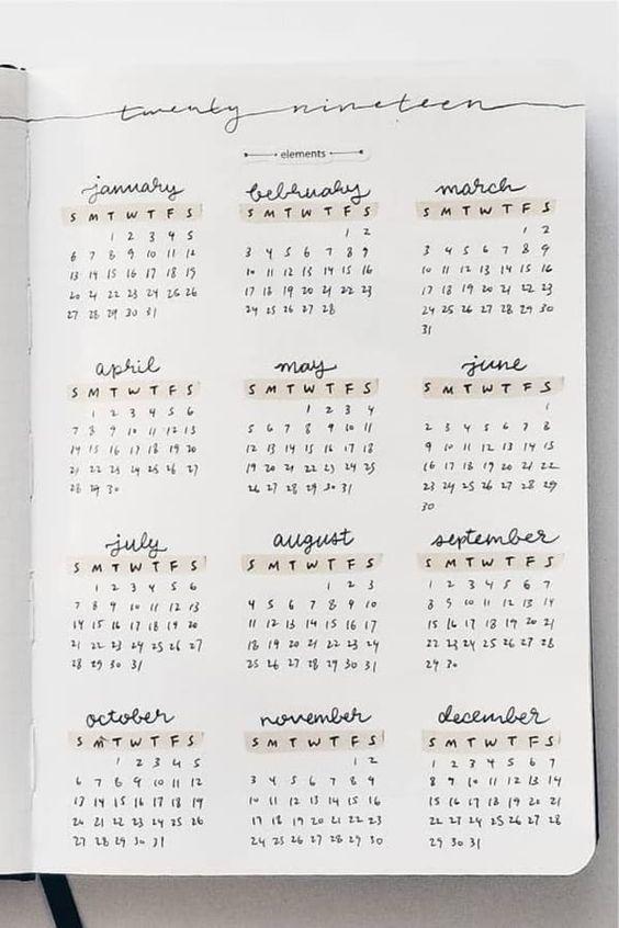 Cómo hacer un bullet journal - Ideas, inspiración y consejos para crearlo | The Optimistic Side