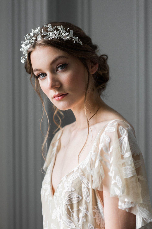 myrtle tiara, antique german tiara replica, vintage style tiara