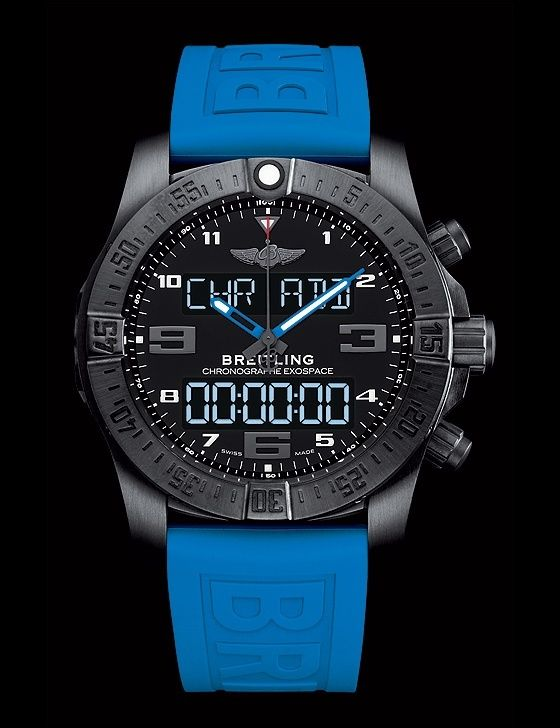 47bd6302924 The  breitling Exospace B55 comes with a range of functions eminently  suitable for aviators and