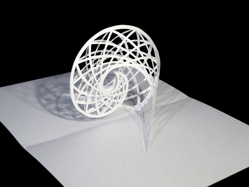 Popupspiralpxrgb Papel Cortado Kirigami Y Otros - Elaborate pop paper sculptures peter dahmen