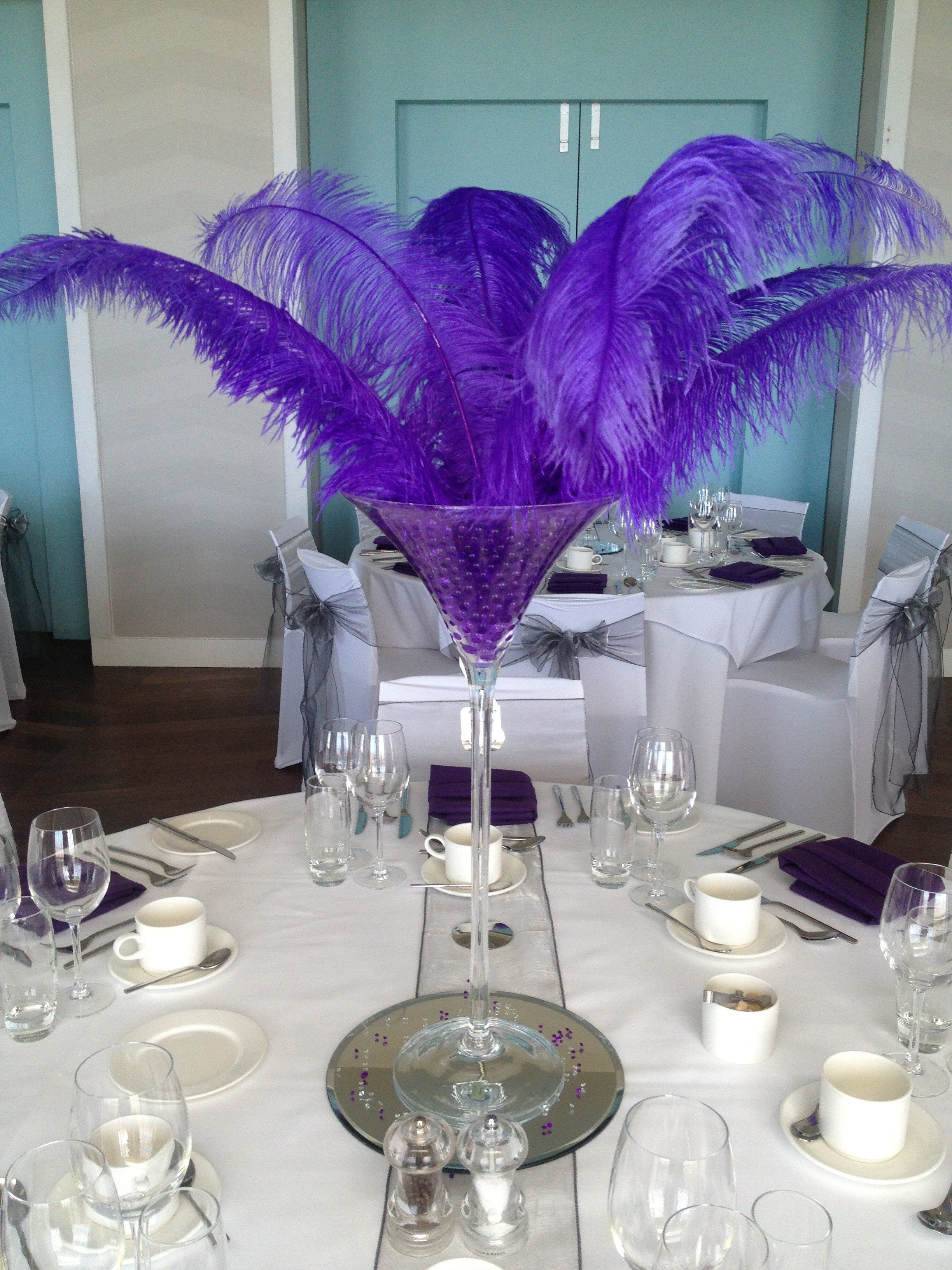 Ball Table Decorations Too Big And Purple But What About Smallershorted Version Seems