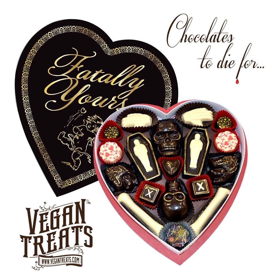 Fatally Yours Gourmet Chocolate Box Gourmet Chocolate Chocolate Box Vegan Treats