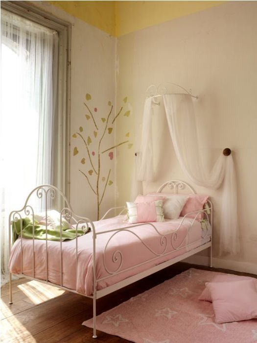Cama de forja camas de forja pinterest camas - Habitacion 3 camas ...
