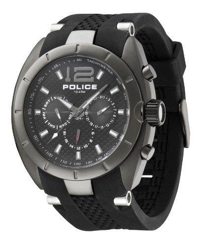 cbd92b7411a Police Interceptor Men s Black Ste el Watch 12676JISU-02 Police. Save 47 Off!.   133.99. Chronograph Display. Water Resistance   10 ATM   100 meters   330  ...