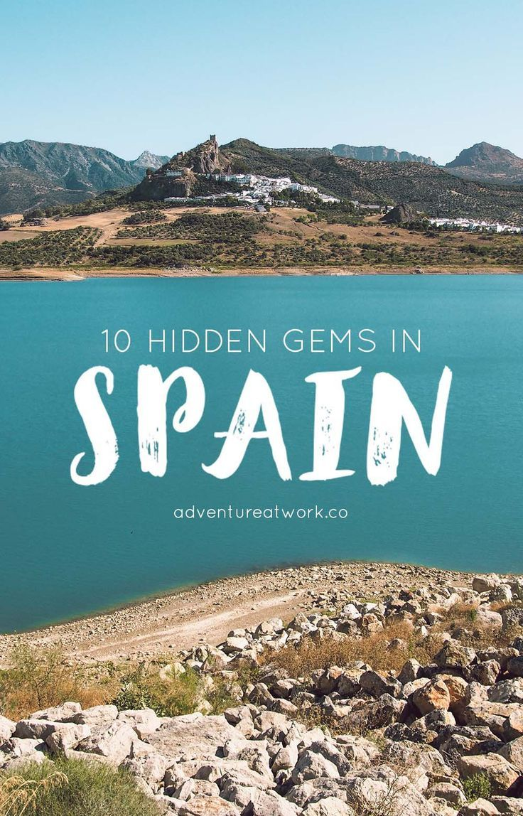 Yeah, you've heard of Barcelona and Madrid, and maybe even Seville, but Spain is such a wonderful and diverse country that there is far more to it than just those two cities. If you're planning on heading to Spain, here are 10 hidden gems in Spain that you absolutely need to visit!