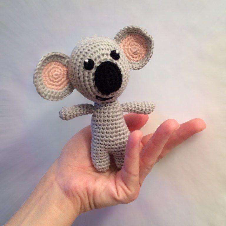 Freie Häkelanleitung Koalabär – Zum flauschigen Einhorn | Häkeln ...