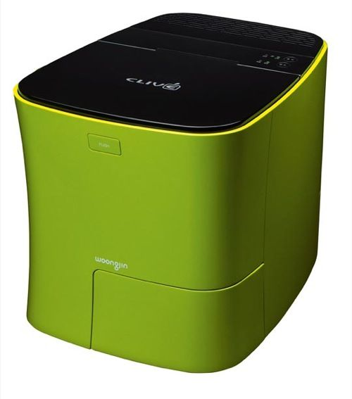 Stink Free Kitchen Composting: The Coway WM06 Makes Composting Food Waste  Convenient, Stylish