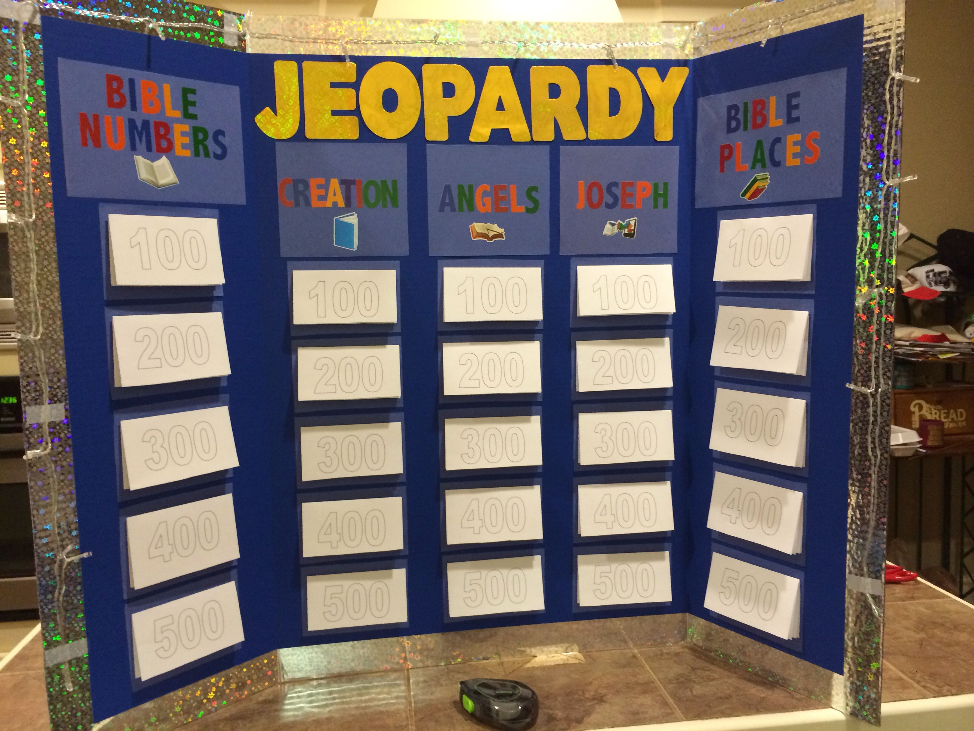Bible Jeopardy. Bible Lessons for Children Pinterest