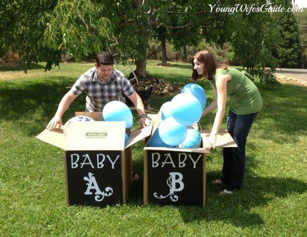 ideas para anunciar el género del bebé