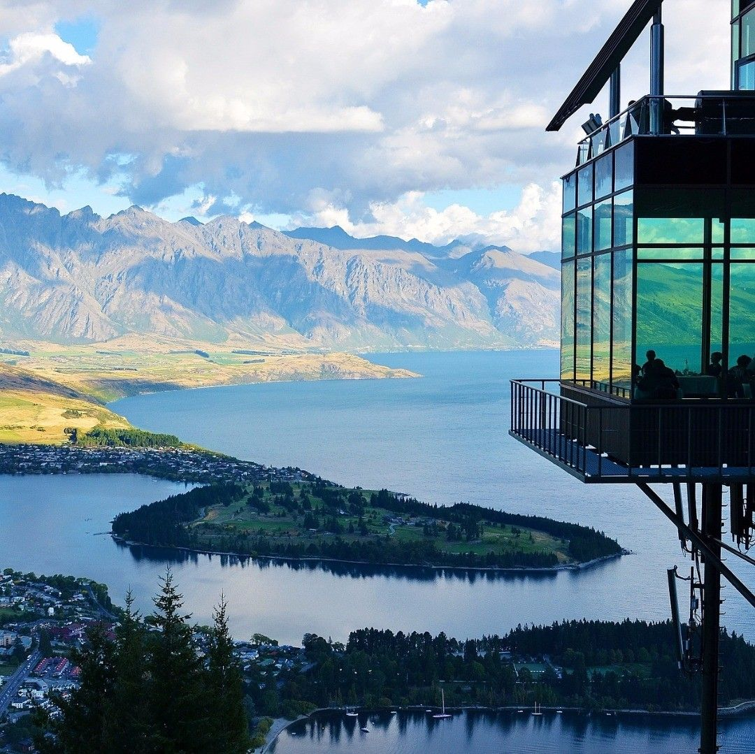 #newzealand #view #mountains #lake #landscape #traveling