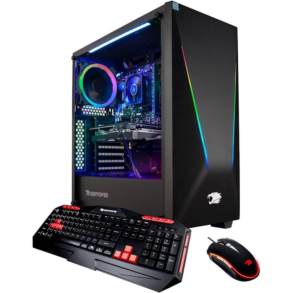 Ibuypower Trace Gaming Desktop Amd Ryzen 7 Series 3700x