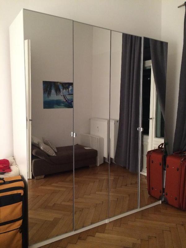 Image Result For Ikea Vikedal Room, Ikea Pax Vikedal Mirrored Wardrobe Doors