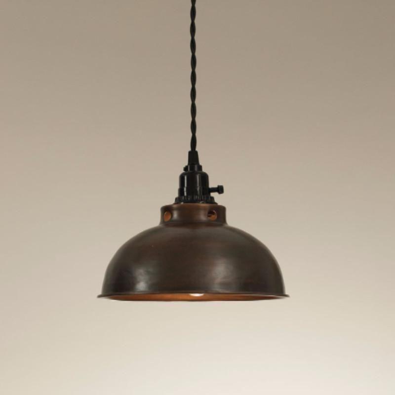 Copper Metal Pendant Light