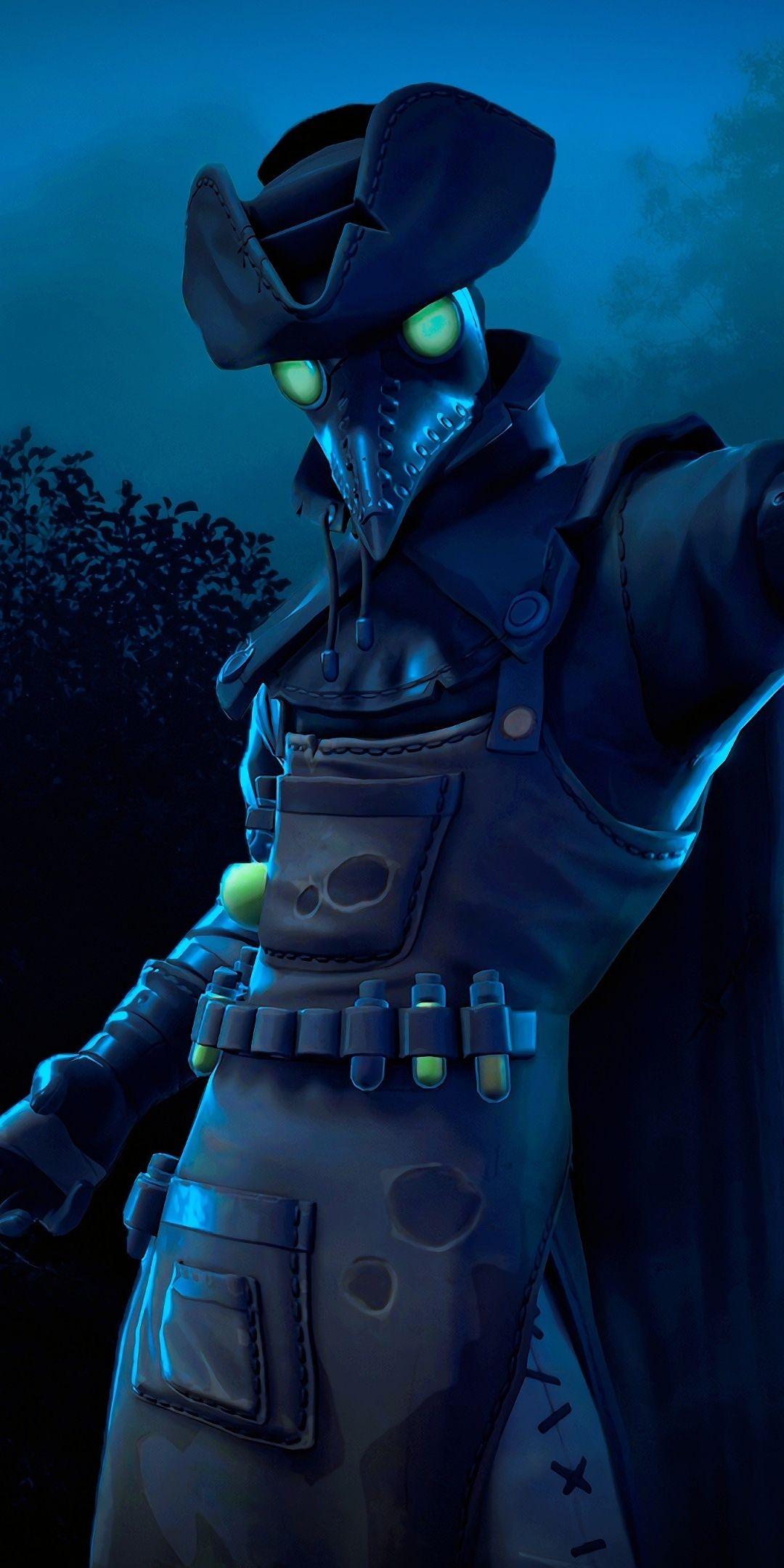 Plague, Fortnite, video game, season 6, 2018, 1080x2160