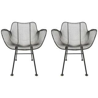 russell woodard sculptura lounge chairs a pair room recipe