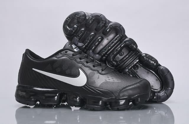 size 40 0fe72 990de Cheap Nike Air VaporMax 2018 Flyknit Leather  black  white Men shoes Only  Price  65 To Worldwide Free Shipping