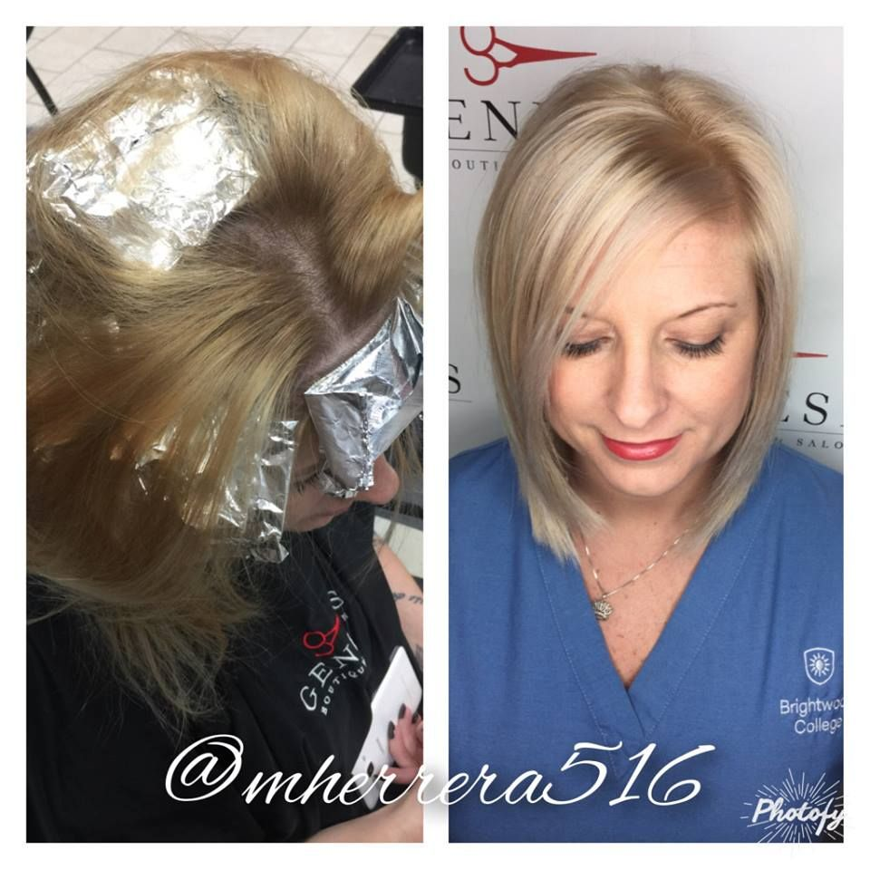 On mariselaus guest tara she heavy highlighted and lightened her