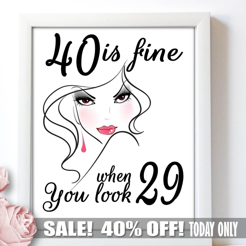 40 Geburtstag Frau Pinterest40 Geburtstag Frau Party 40