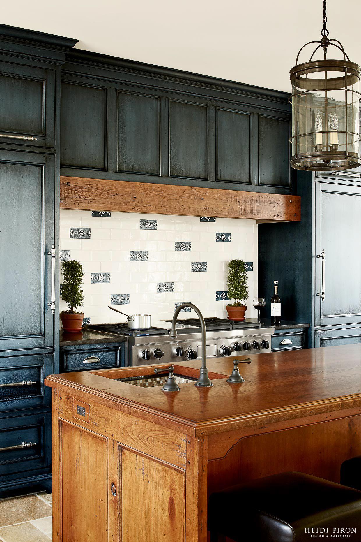 Award-winning kitchen designer, Heidi Piron, creates hand-crafted ...