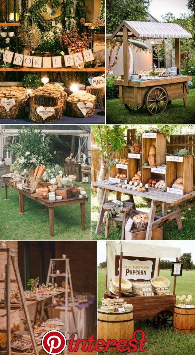 31 Admirable Wedding Food And Drink Bar Ideas Wedding Food And Drink Bars Have Always Been Hot Top Rustic Wedding Foods Wedding Reception Food Wedding Buffet