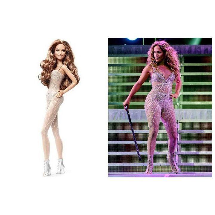 Barbie Collector - Jennifer Lopez - World Tour - Bonecos Colecionáveis e Brinquedos é na ITtoys
