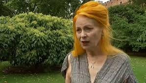 Vivienne Westwood talks eco friendly fashion video….