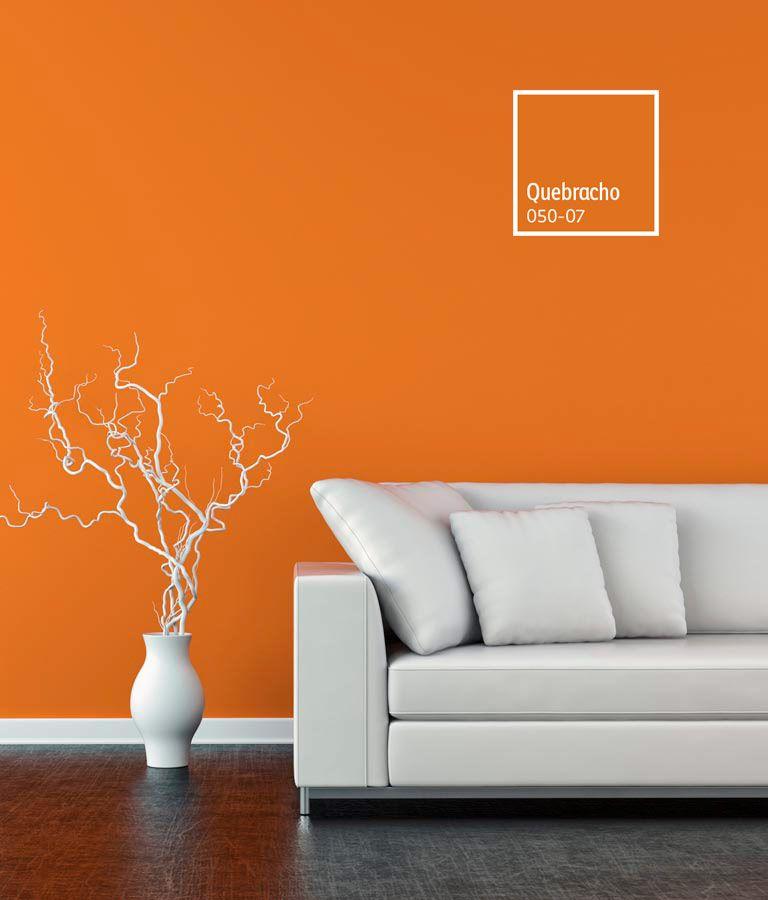 Decoracion De Espacios Con Colores Naranjas Comex Colorlife Colores De Pintura De Interior Pintura De Interiores Colores Para Sala Comedor