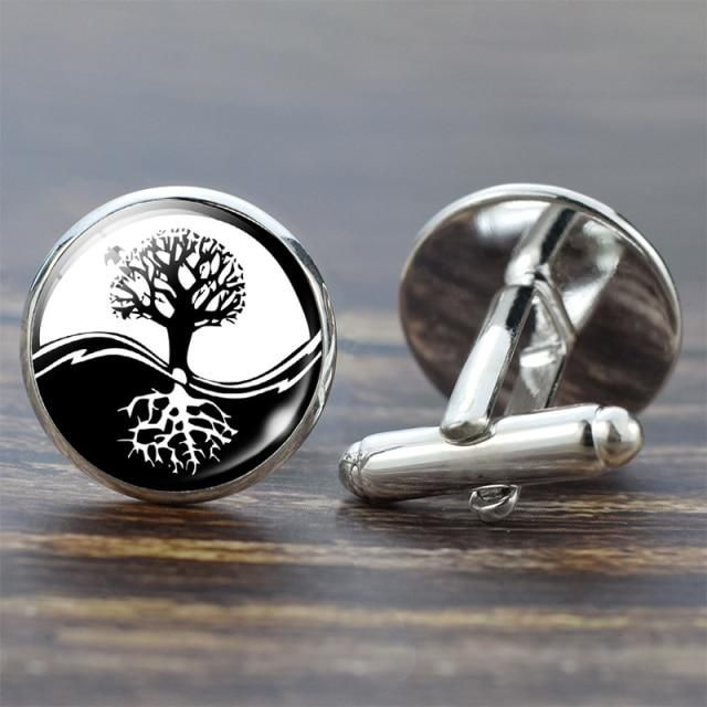 Men's Tree of Life Cufflink Collection – F