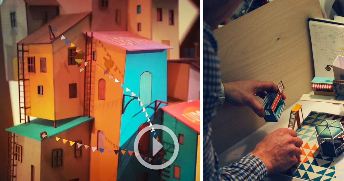 Lumino City A Handmade Paper Video Game By State Of Play Paper Video State Of Play Game Inspiration