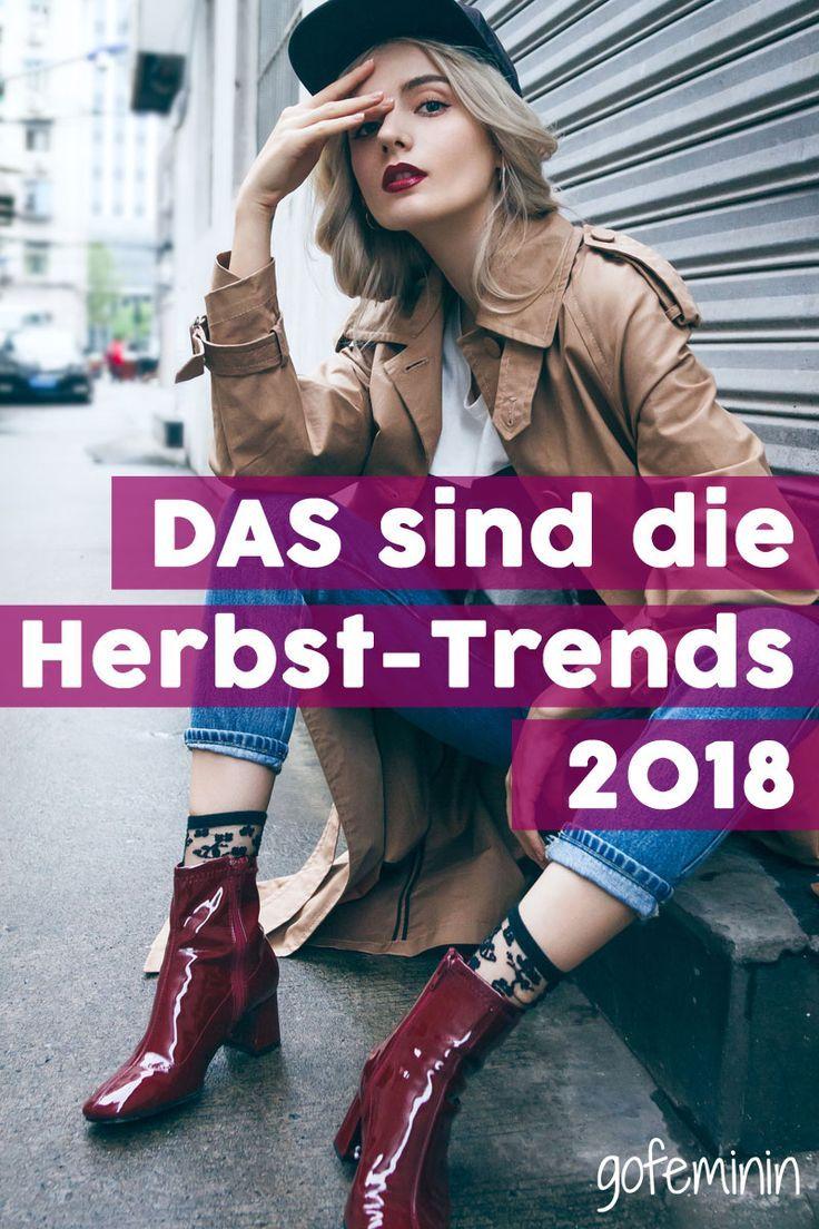 Herbst-Trends 2018: DAS sind die 6 wichtigsten Styles im ...