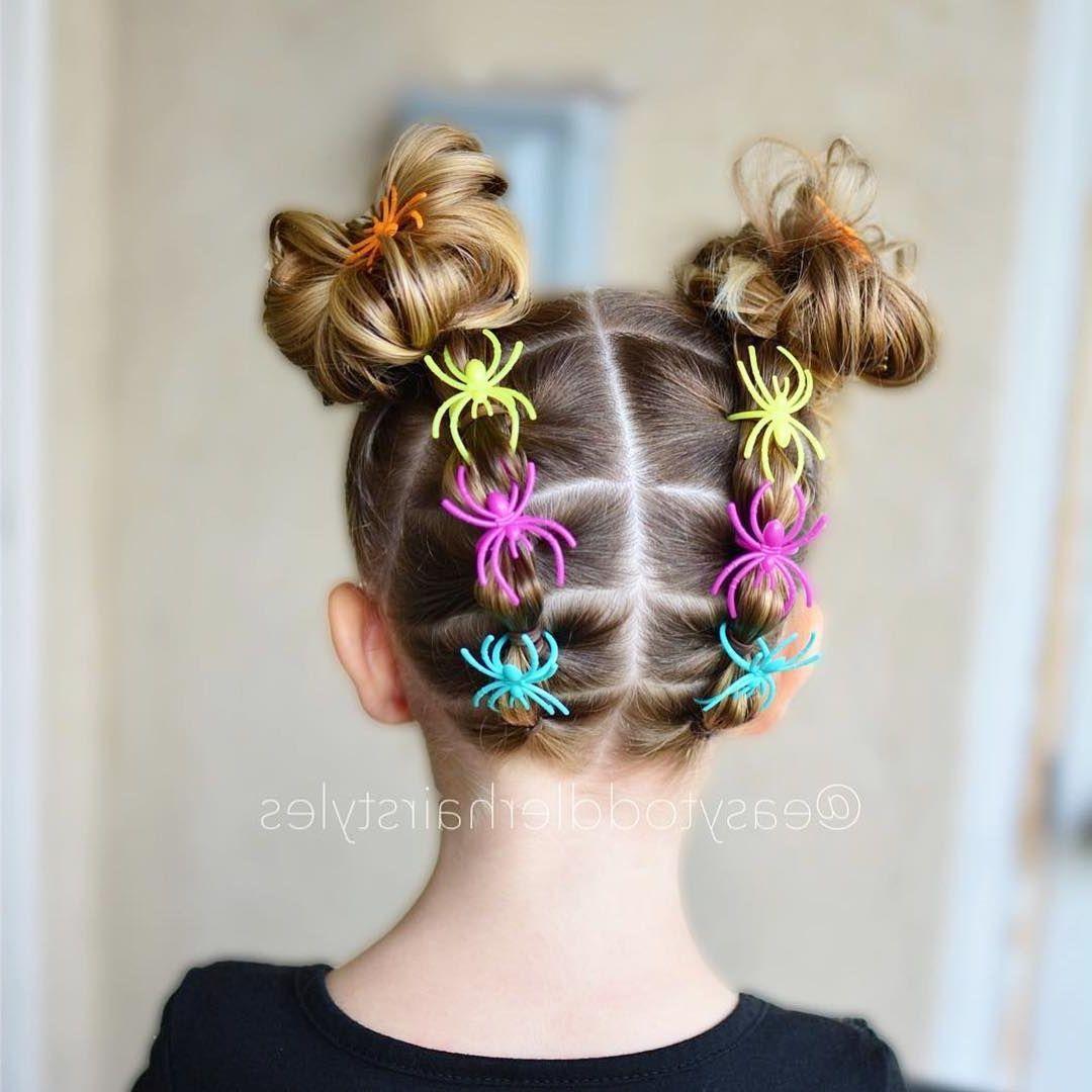 25 Easy Wacky Hairstyles For School Girl Halloween Wacky