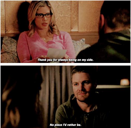 Smallville Season 4 Cast: Arrow - Felicity & Oliver #4.11 #Season4 #Olicity