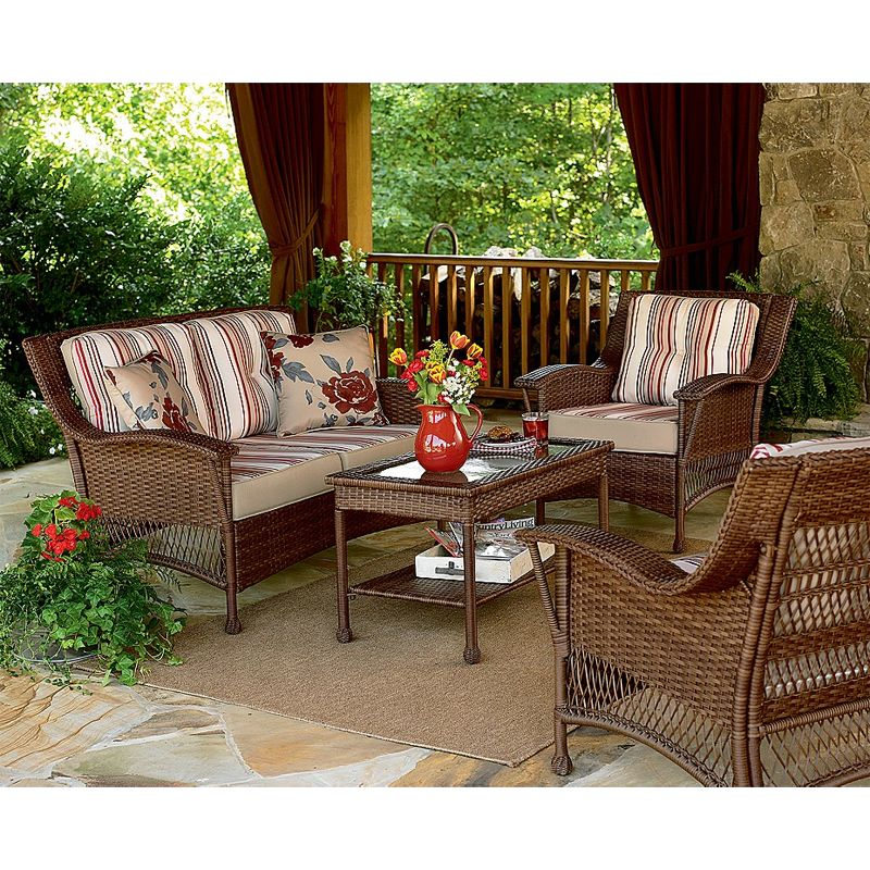Roseville Seating Set Replacement Cushions Deep seating
