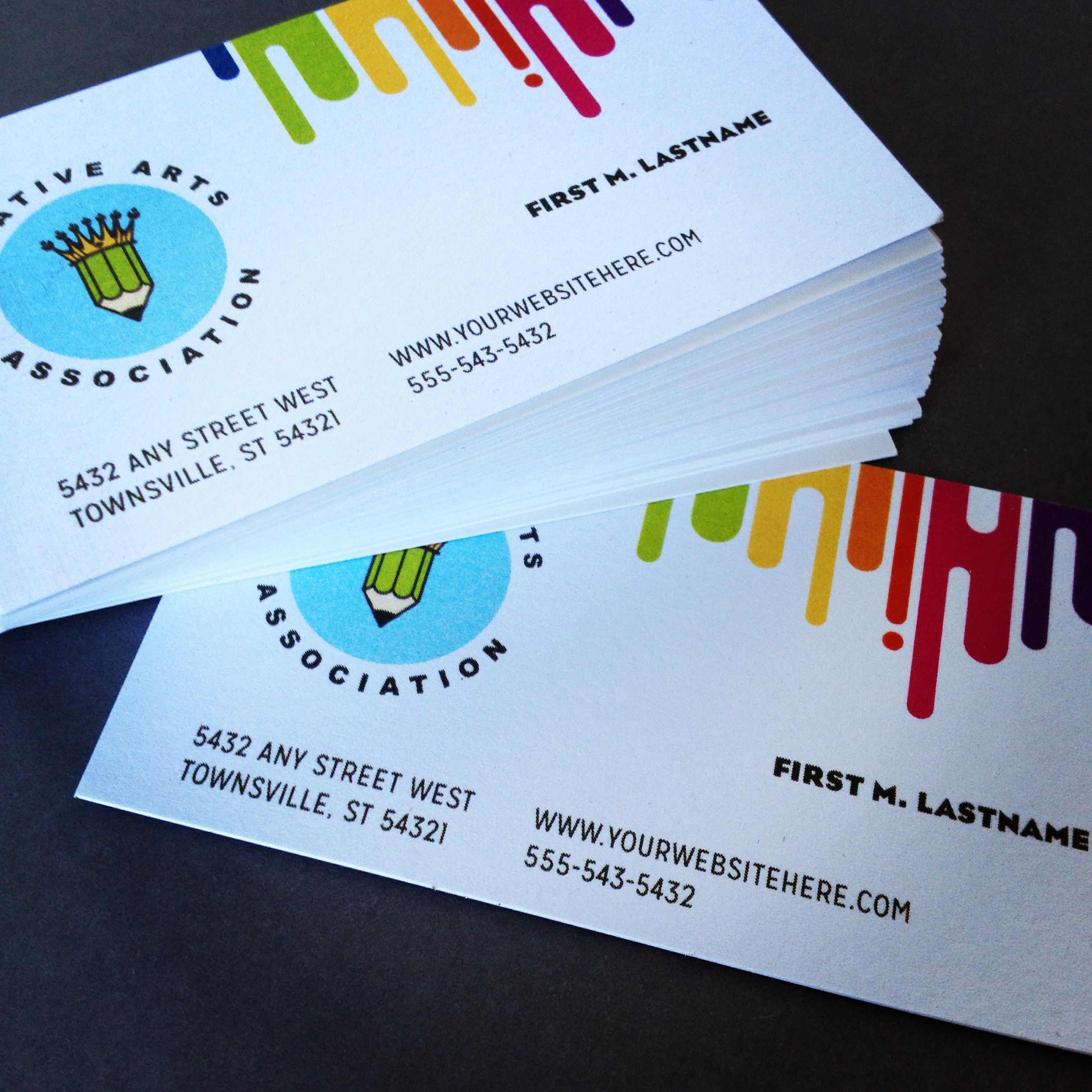 Kids art camp business card design by StockLayouts | Education ...