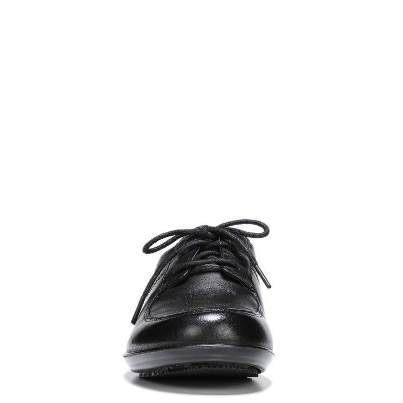 Naturalizer Women's Bell Medium/Wide Oxford Shoes (Black Leather) - 10.0 M