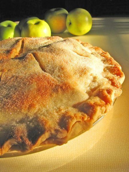 tarta de calabaza y manzana, jengibre