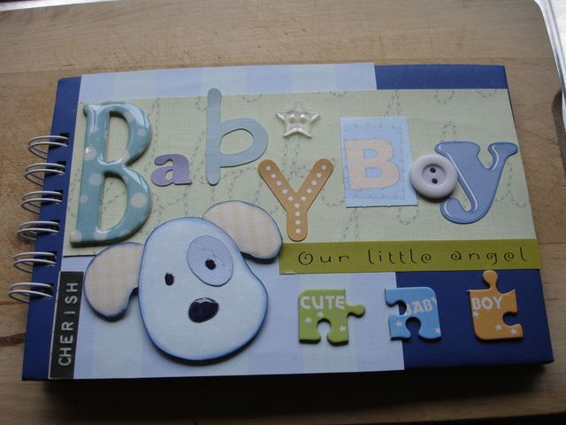 scrapbooking ideas for a baby boy ehow uk grandbabies scrap