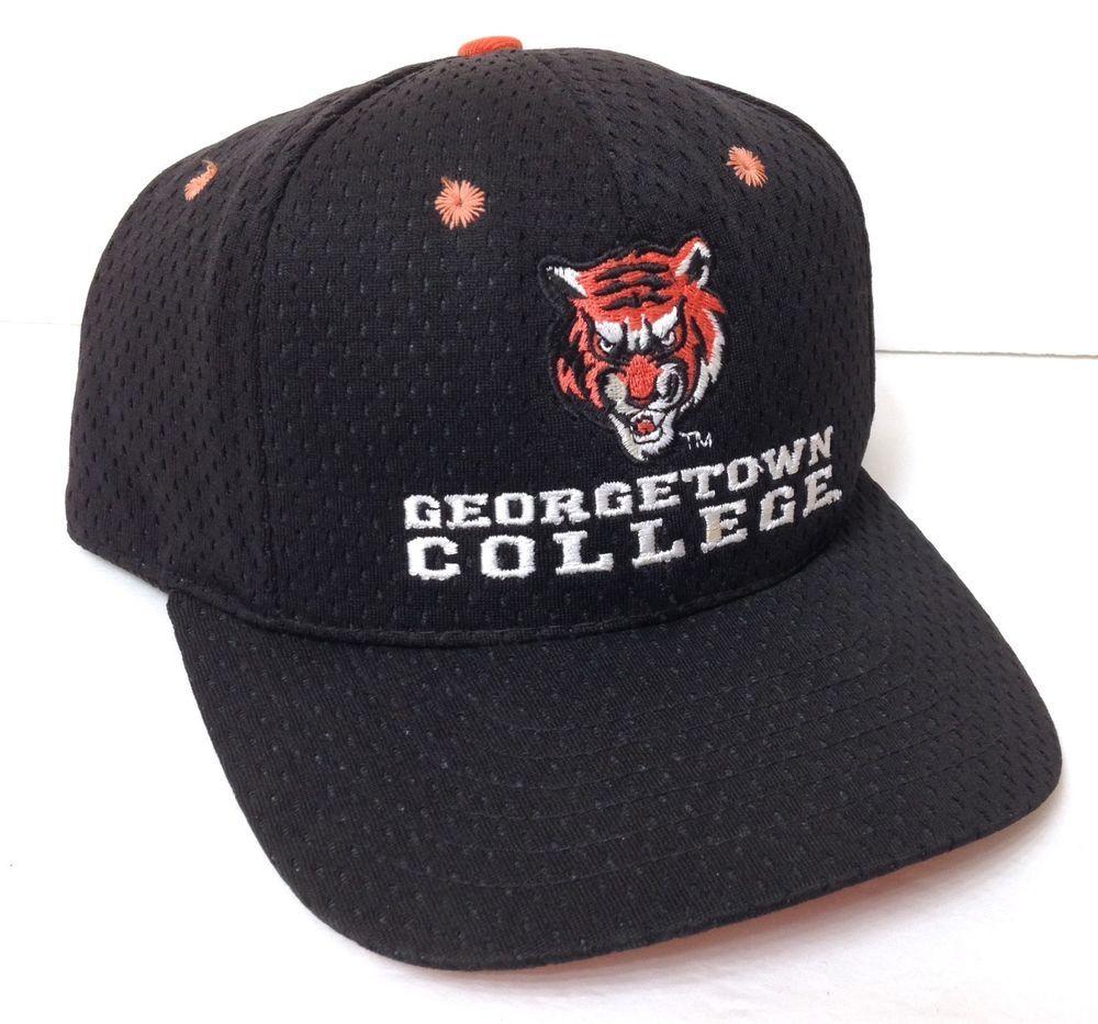 as is vtg georgetown college tigers snapback hat kentucky black orange tiger