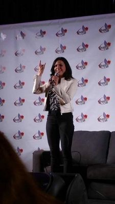 Lana Parrilla Regal Con Panel 8th May 2015.