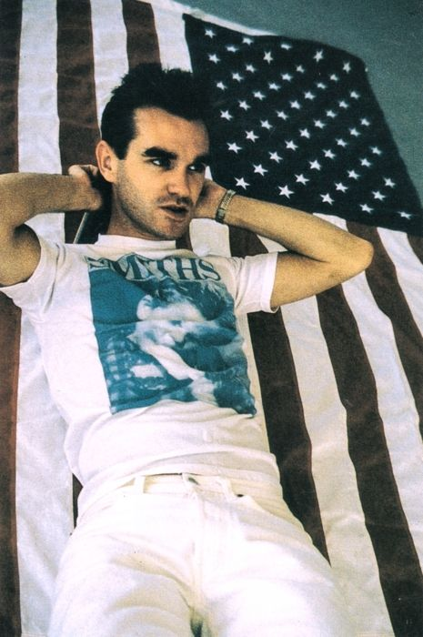 Morrissey of The Smiths.