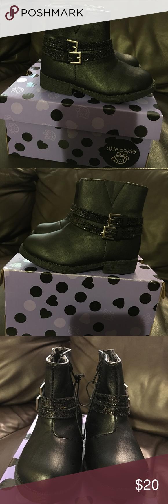 Brand new boots okie dokie Brand new boots okie dokie 7 medium black okie dokie Shoes Boots