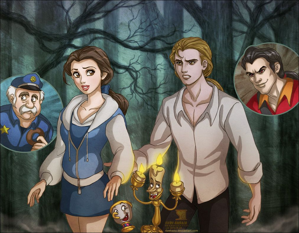 Beauty and The Beast: Twilight...how do people come up with these things lol