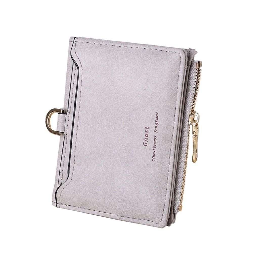 Beans Womens RFID Blocking Zip Around Wallet Genuine Leather Clutch Long Card Holder Organizer Wallets Large Travel Purse