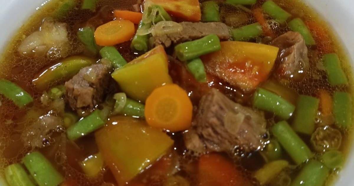 Resep Asem Asem Daging Oleh Heny Widiastuti Resep Makanan Resep Masakan Pot Roast